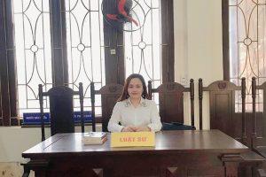 Hoạt động của Chánh văn phòng Luật sư Phí Thị Xoan
